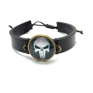 Bratara The Punisher's skull-0