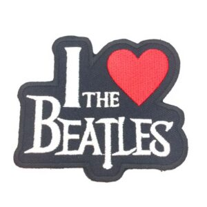 Patch I love the Beatles-0