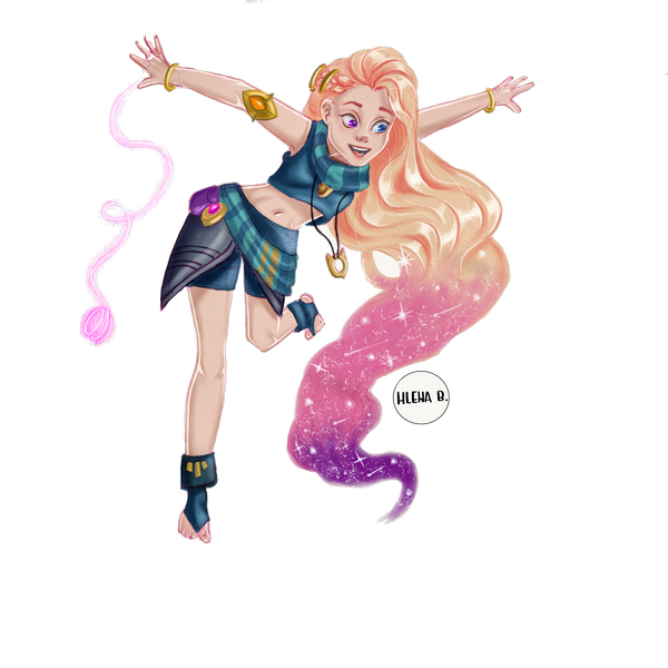 Zoe din League of legends