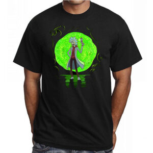 Tricou Rick and portal-0